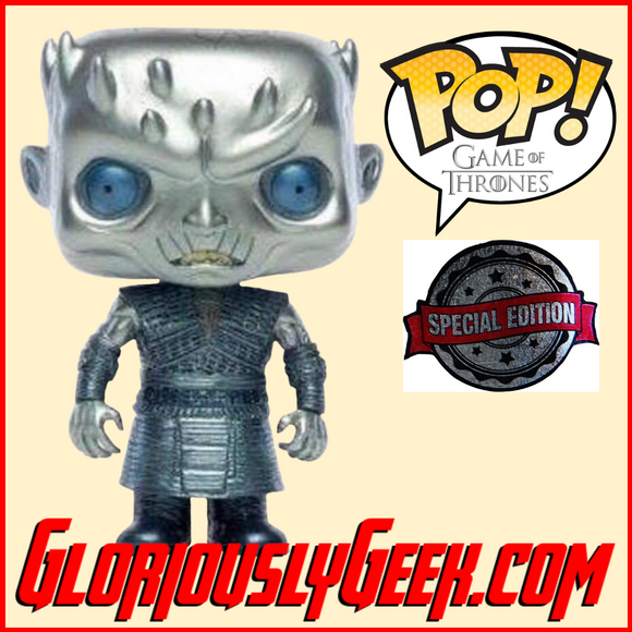 Funko - Game of Thrones Pop! Vinyl - Night King #44 (Metallic Exclusive) - Gloriously Geek
