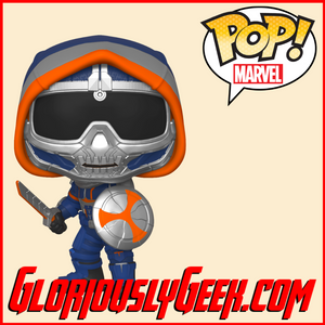 Funko - Marvel Pop! Vinyl - Black Widow - Taskmaster with Shield #605