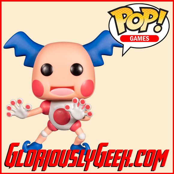 Funko - Games Pop! Vinyl - Pokemon - Mr Mime #582