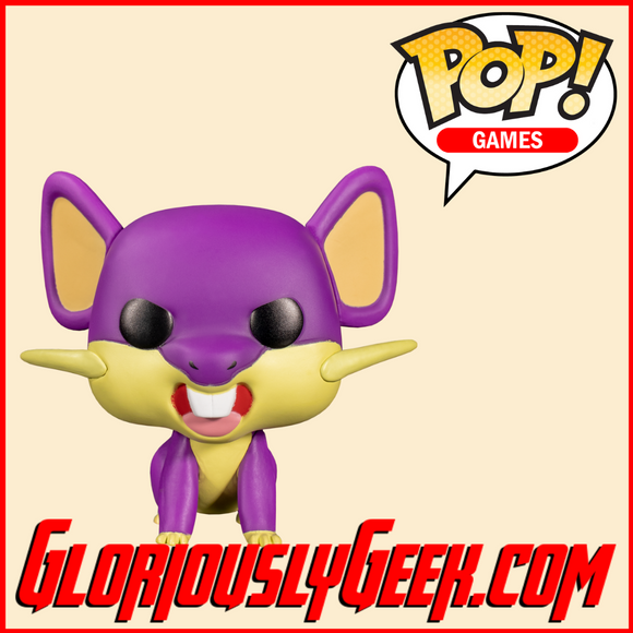 Funko - Games Pop! Vinyl - Pokemon - Rattata #595