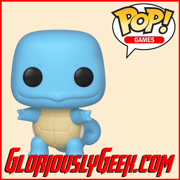 Funko - Games Pop! Vinyl - Pokemon - Squirtle #504