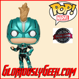 Funko - Marvel Pop! Vinyl -  Captain Marvel - Vers Masked #434