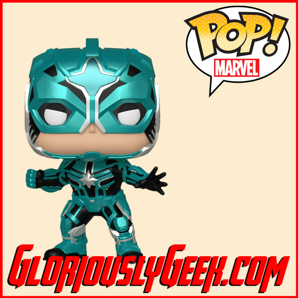 Funko - Marvel Pop! Vinyl -  Captain Marvel - Yon-Rogg #429