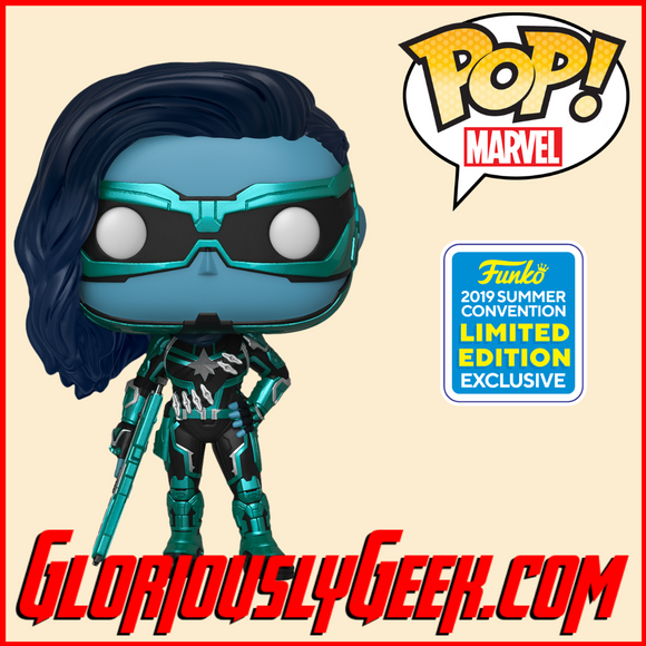 Funko - Marvel Pop! Vinyl -  Captain Marvel - Minn-Evra #487