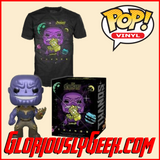 Funko - Marvel Pop! Vinyl and Tee - Avengers Infinity War - Thanos #289 (Large)
