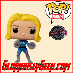 Funko - Marvel Pop! Vinyl - Fantastic Four - Invisible Girl (Disappearing) #567