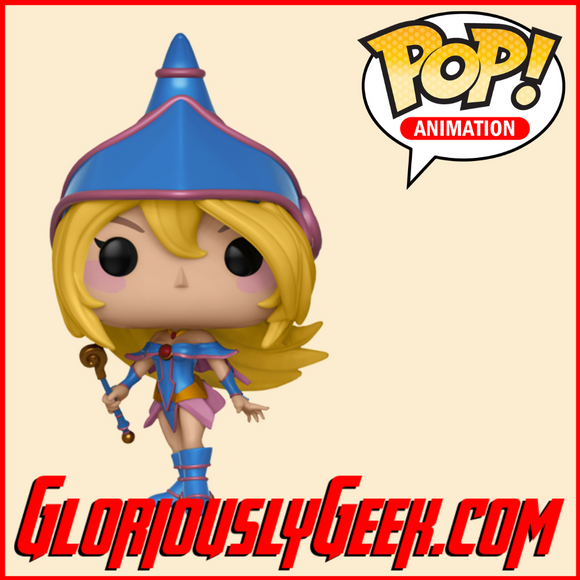 Funko - Animation Pop! Vinyl - Yu-Gi-Oh! - Dark Magician Girl #390