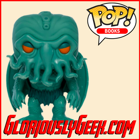 Funko - Books Pop! Vinyl - H.P Lovecraft - Cthulhu (Neon) #03