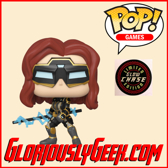 Funko - Games Pop! Vinyl - Marvel's Avengers - Black Widow (Chase) #630