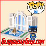 Funko - Pop! Town - DC Comics - Batman and The Hall of Justice #09 - Gloriously Geek