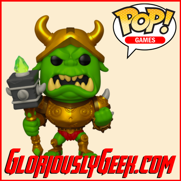 Funko - Game Pop! Vinyl - Spyro the Dragon - Gnasty Gnorc #530