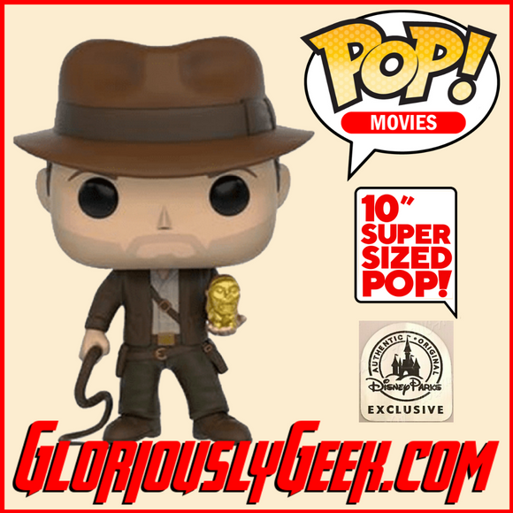 Funko -  Movies Pop! Vinyl - Indiana Jones #885 (10