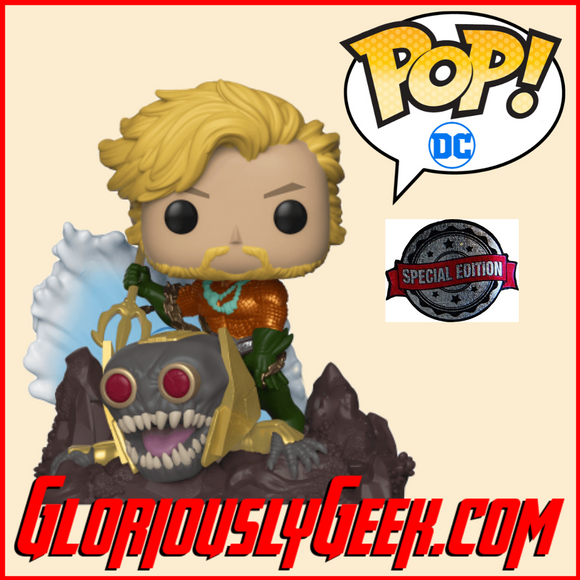 Funko - Heroes Pop! Vinyl - DC Comics - Aquaman by Jim Lee #254 - Gloriously Geek