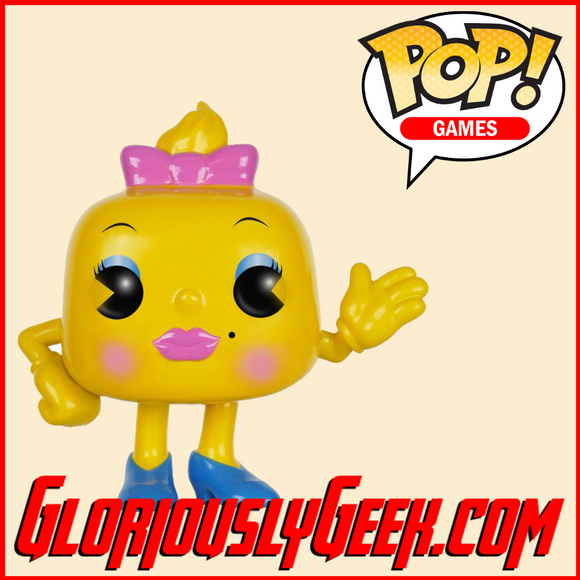 Funko - Game Pop! Vinyl - Ms. Pac-Man #82