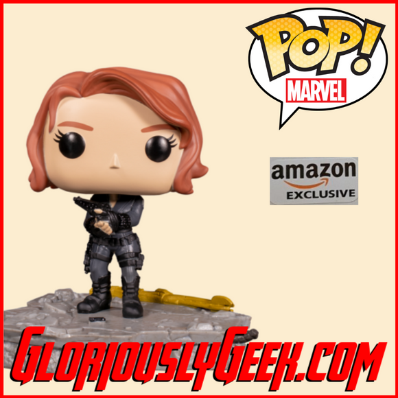 Funko - Marvel Pop! Vinyl - Avengers Assemble - Black Widow Deluxe #588 (Exclusive)