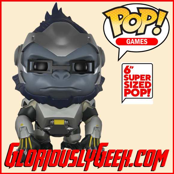 Funko - Games Pop! Vinyl - Overwatch - Winston #97 (6