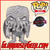 Funko - Books Pop! Vinyl -HP Lovecraft - Cthulhu (B&W) #03