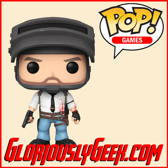 Funko - Games Pop! Vinyl - PUBG - The Lone Survivor #556