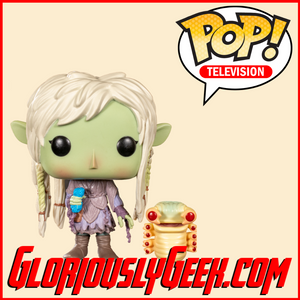 Funko - TV Pop! Vinyl - The Dark Crystal: Age of Resistance - Deet with Baby Nurlock #859