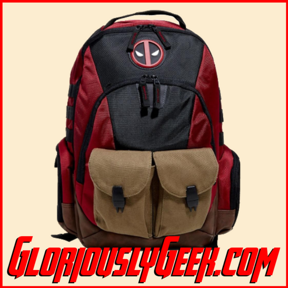 Apparel - Bags - Marvel - Deadpool Combat Backpack