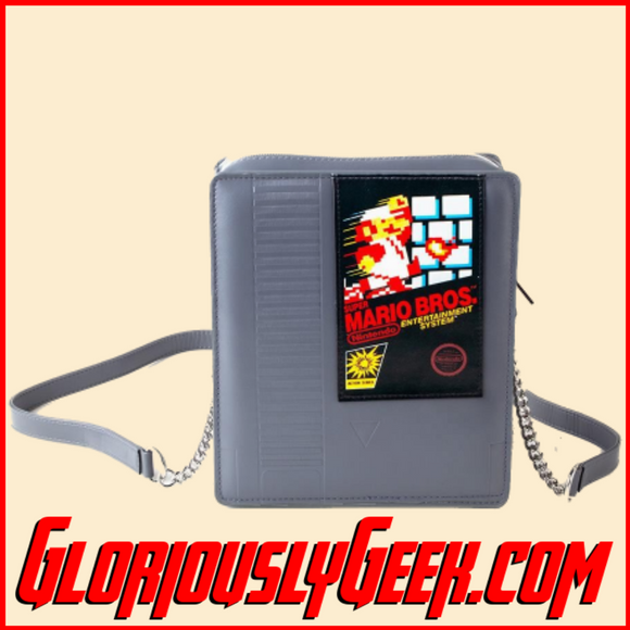 Apparel - Bags - Nintendo - Super Mario Bros NES Cartridge Shoulder Bag