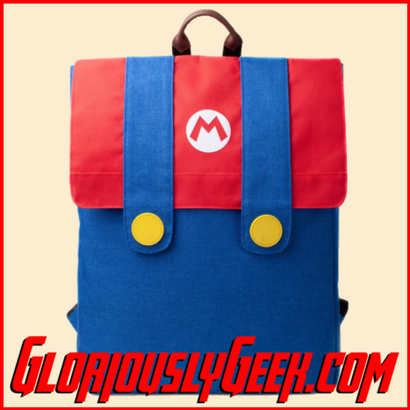 Apparel - Bags - Nintendo - Super Mario Denim Suit Backpack