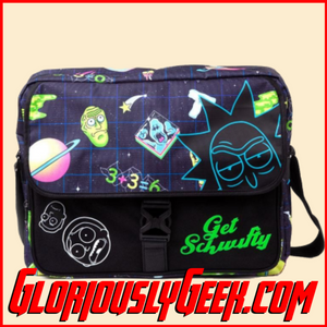 Apparel - Bags - Rick and Morty - Space Messenger Bag