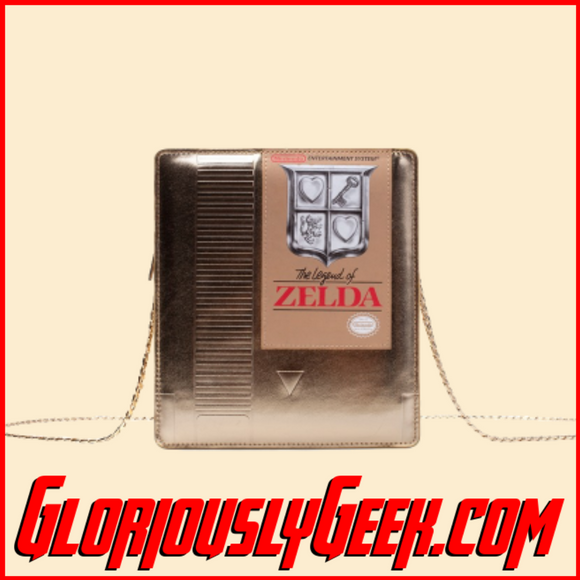 Apparel - Bags - Nintendo - Zelda - Golden NES Cartridge Shoulder Bag