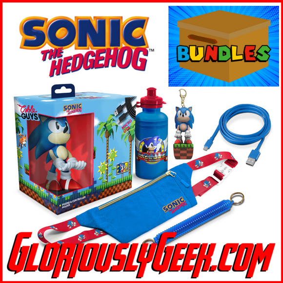 Gifts - Cable Guys - Sonic the Hedgehog Deluxe Bundle