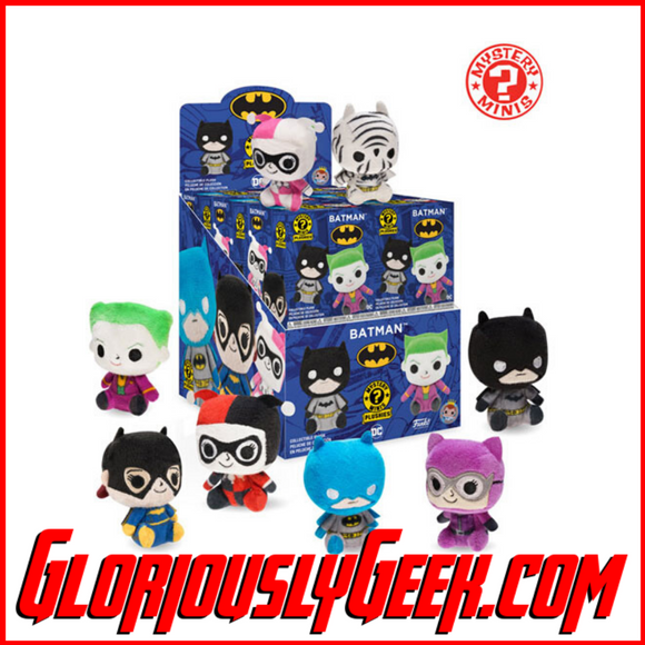 Funko - Mystery Mini Plush - Batman