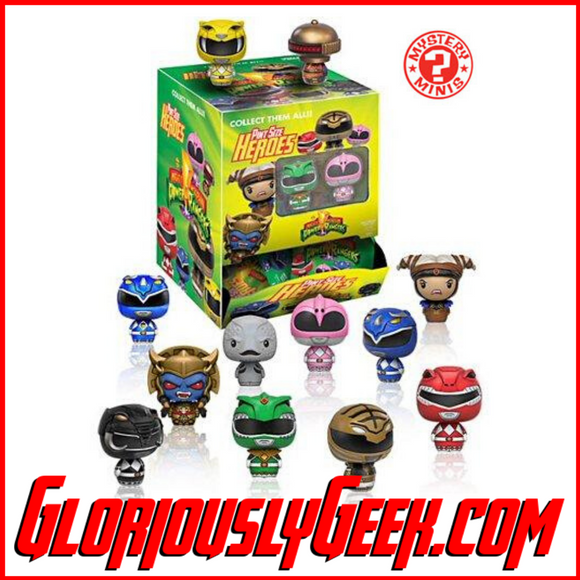 Funko - Mystery Mini - Pint Size Heroes - Mighty Morphing Power Rangers (Walmart Exclusives)