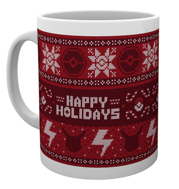 Mug - Pokemon - Christmas Jumper - Gloriously Geek