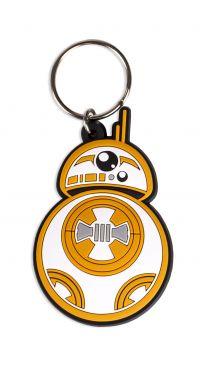 Star Wars - BB-8 Rubber Keychain - Gloriously Geek