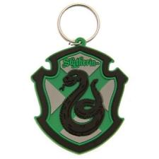 Harry Potter - Slytherin Rubber Keychain - Gloriously Geek
