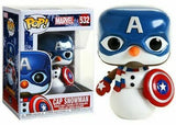 Funko - Marvel Pop! Vinyl - Marvel Christmas - Captain America #532