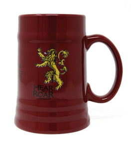 "Game of Thrones - ""House Lannister"" Ceramic Stein - Gloriously Geek"