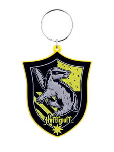 Harry Potter - Hufflepuff Rubber Keychain - Gloriously Geek