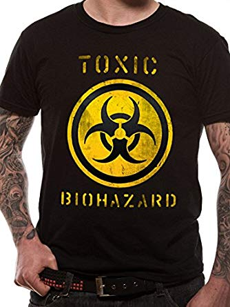 Toxic Biohazard T-Shirt - Small T-Shirt - Gloriously Geek
