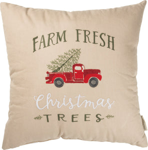 Pillow - Farm Fresh Christmas Trees