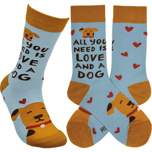 All You Need is Love and a Dog Socks