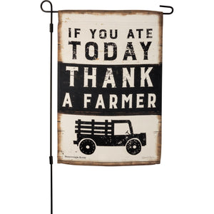 If You Ate Today, Thank a Farmer Flag