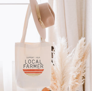 Support Your Local Farmer Bag