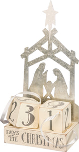 Block Countdown - Nativity