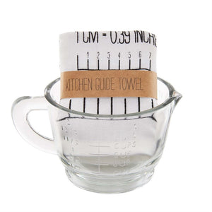 MEASURING CUP & TOWEL SET