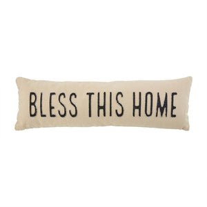 Bless This Home Long Pillow