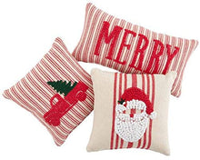 Merry Knotted Pillow's