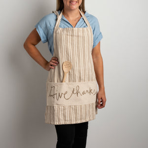 Give Thanks Apron