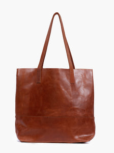 ABLE Mamuye Classic Tote in Whiskey