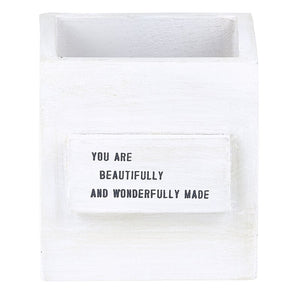 You are beautifully Wonderfully Made Wood Box