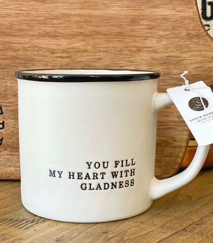 SIPS Cafe Mug - You fill my heart with gladness